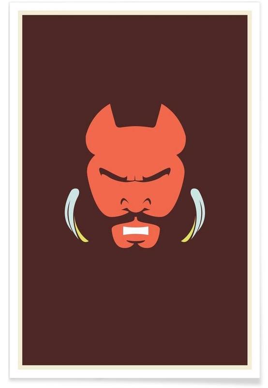 Mr T - Minimaliste affiche