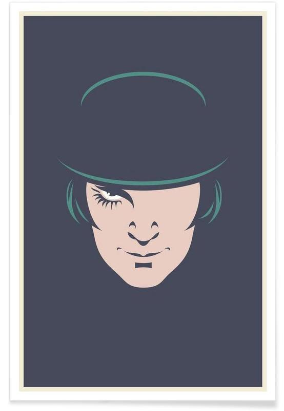 Clockwork Orange Minimalist Poster