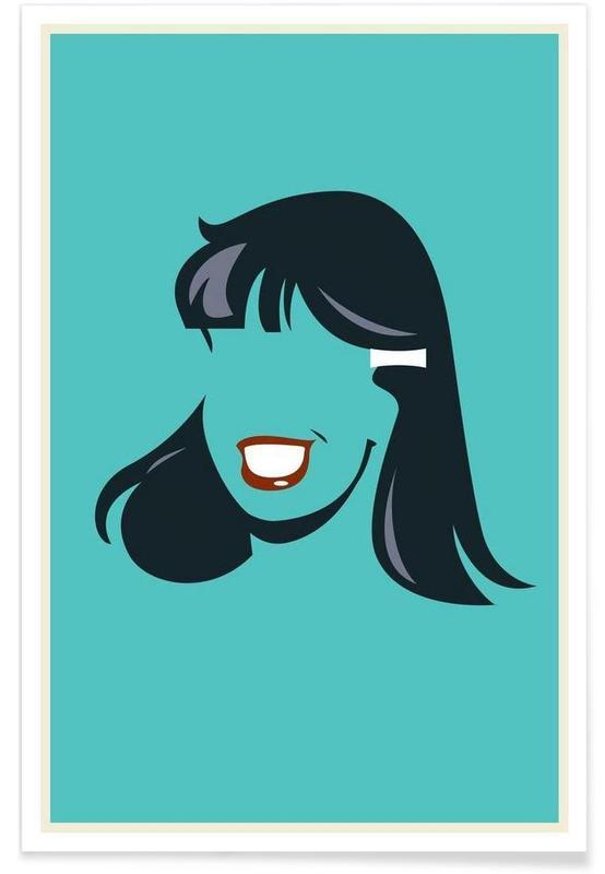 Veronica Archie Comic - Minimaliste affiche
