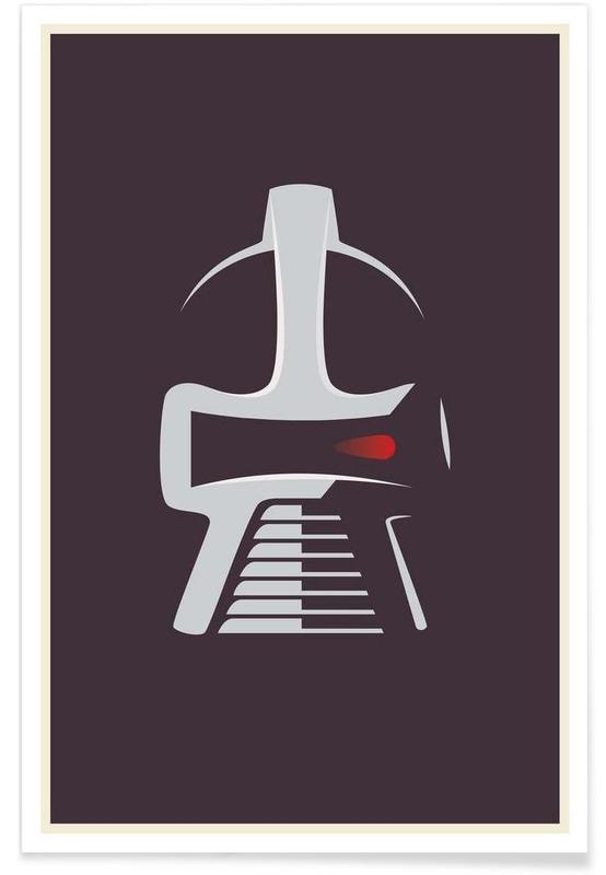 Battlestar Galactica Minimalist Poster