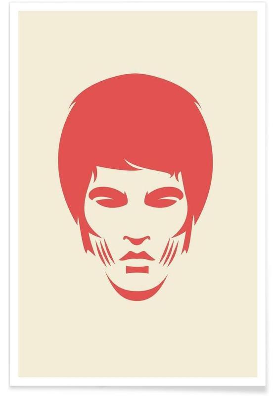 Films, Bruce Lee - Minimaliste affiche