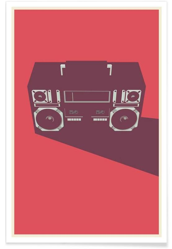 Films, Radio Raheem - Minimaliste affiche