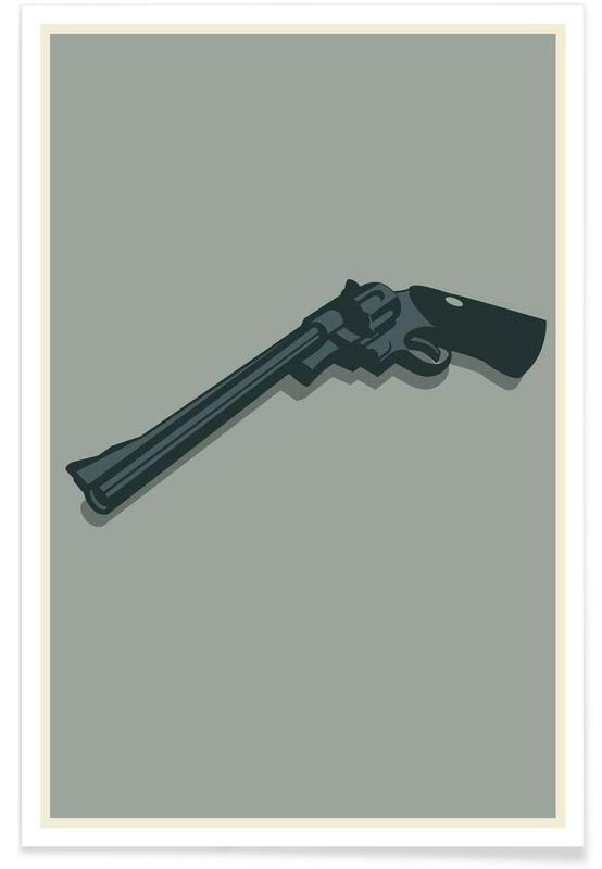 Dirty Harry - Minimaliste affiche