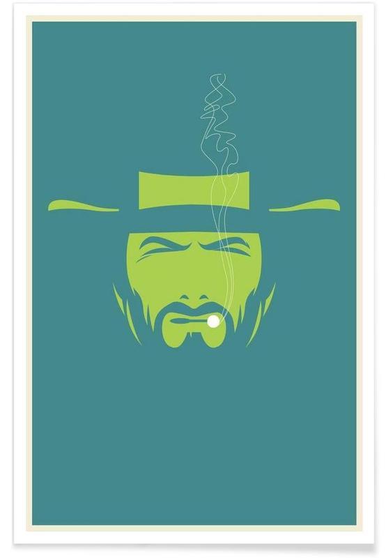 Clint Eastwood - Minimaliste affiche