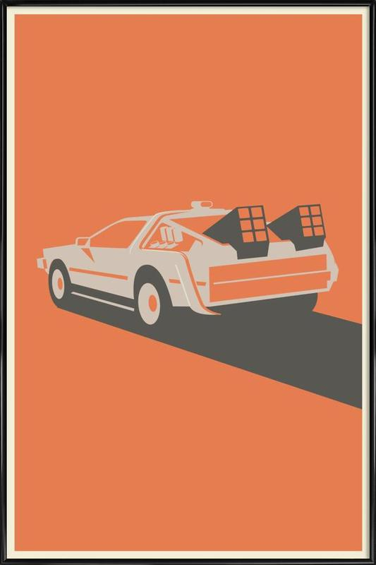 Back to the Future Framed Poster