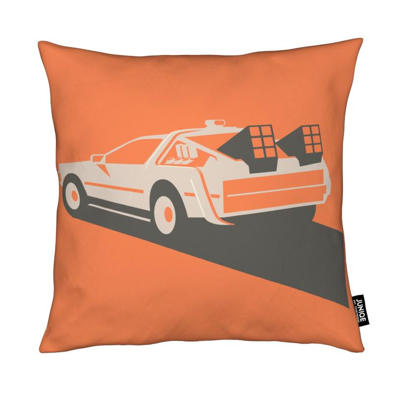 Back to the Future coussin
