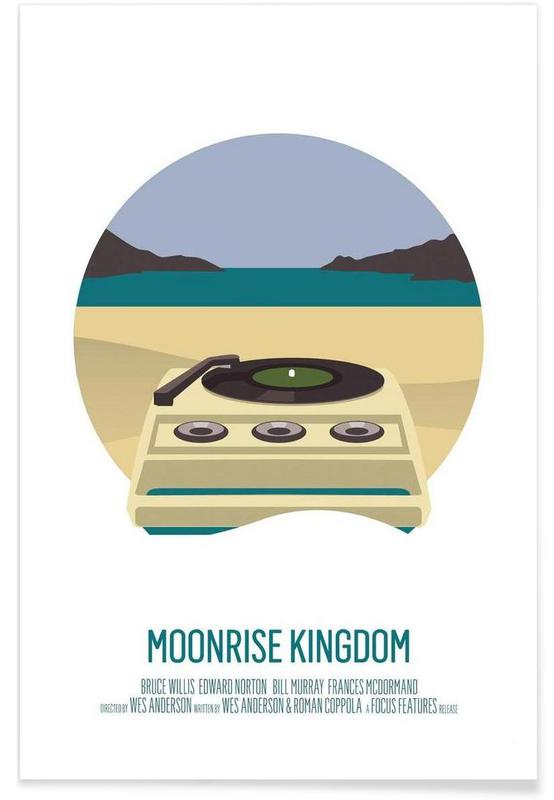 Moonrise Kingdom - Minimaliste affiche
