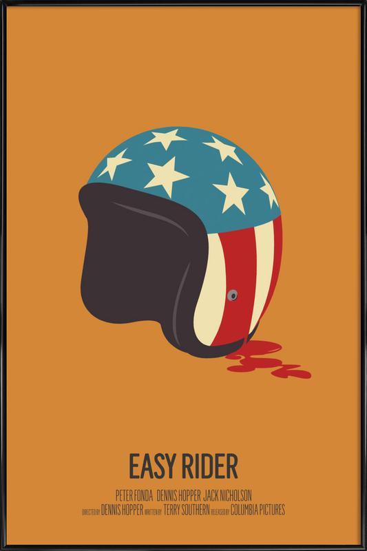 Easy Rider affiche encadrée