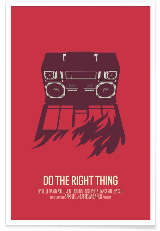 Films, Do The Right Thing affiche