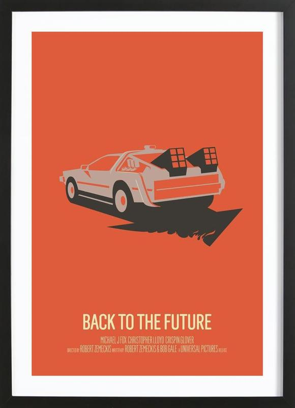Back to the Future 2 Framed Print
