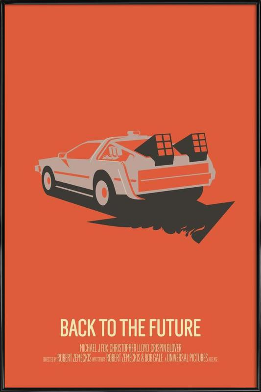 Back to the Future 2 Framed Poster