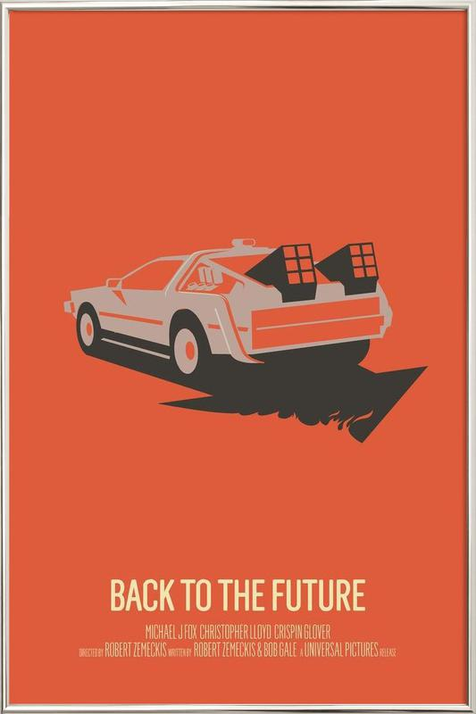 Back to the Future 2 Poster in Aluminium Frame