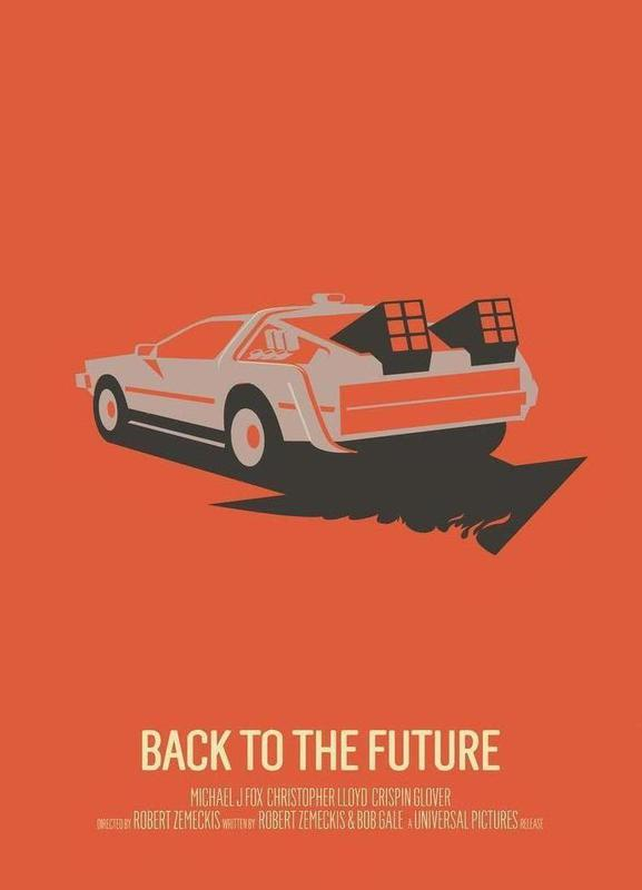 Back to the Future 2 Canvas Print