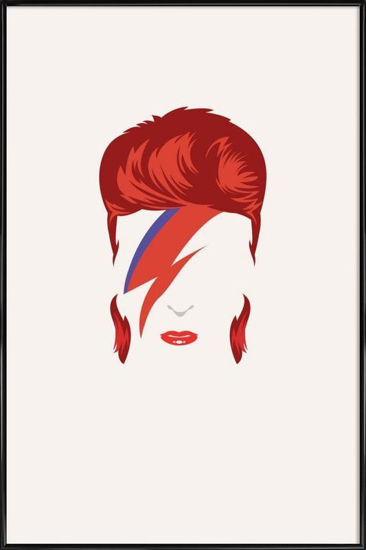 Bowie Framed Poster
