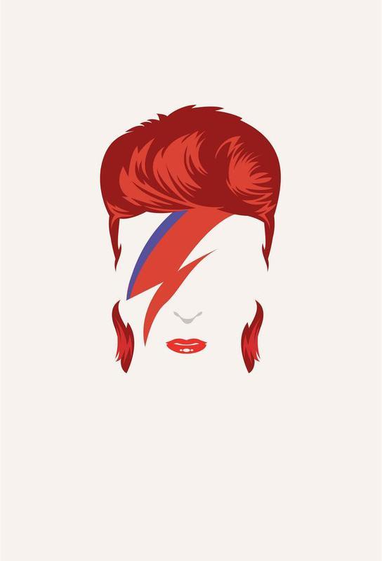 Bowie Aluminium Print