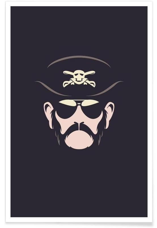 Lemmy Motorhead - minimalistisch poster