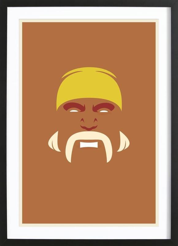 Hogan Framed Print