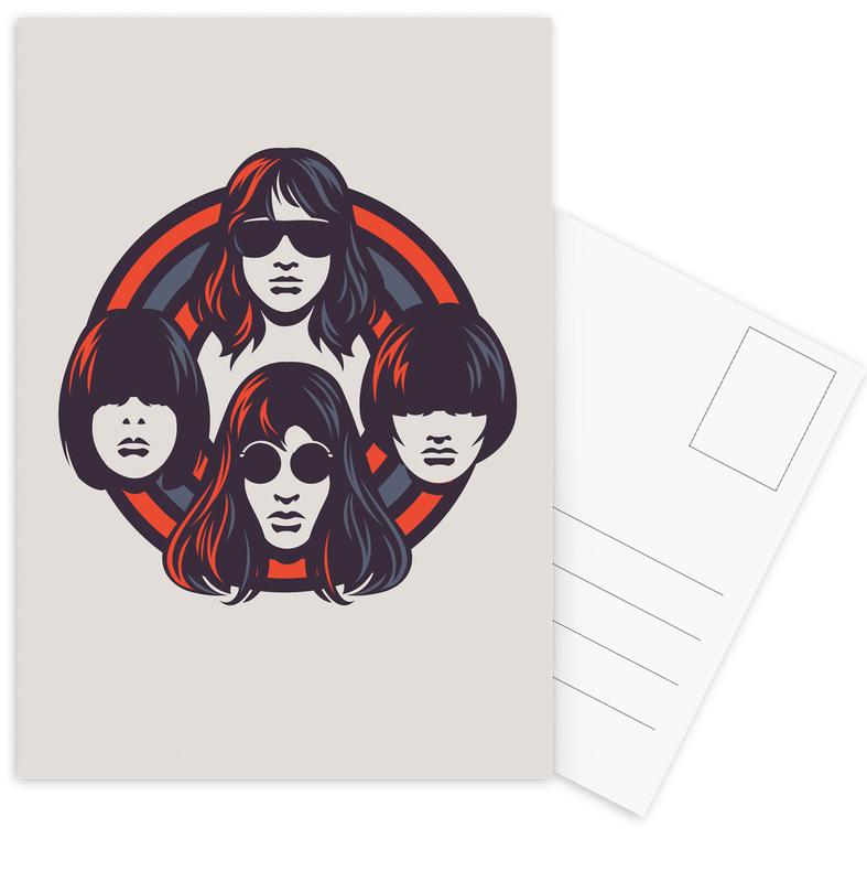 Rock, Mones Postcard Set