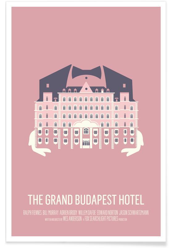 Gr  Budapest Hotel affiche