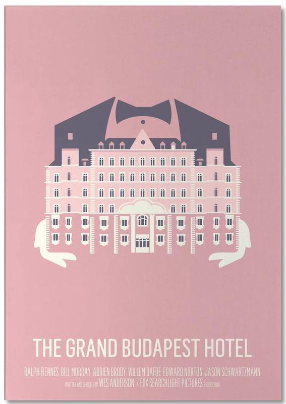 Filme, Gr  Budapest Hotel -Notizblock