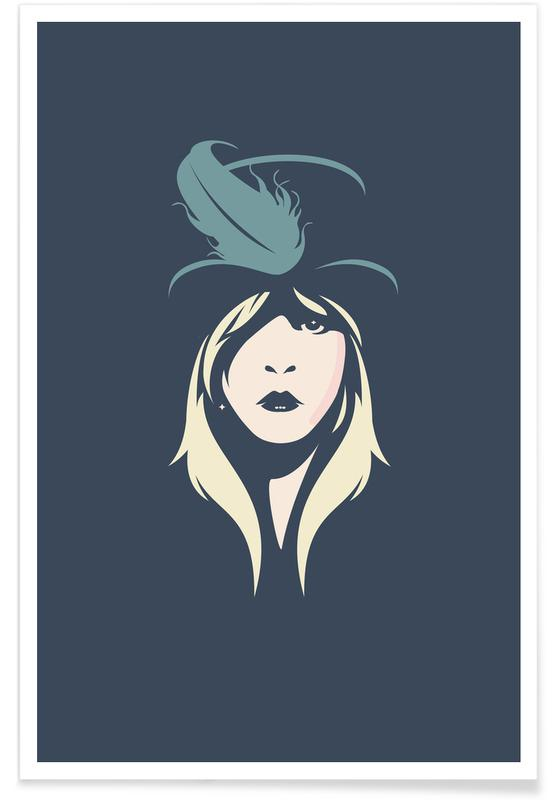 Portraits, Stevie Nicks Poster