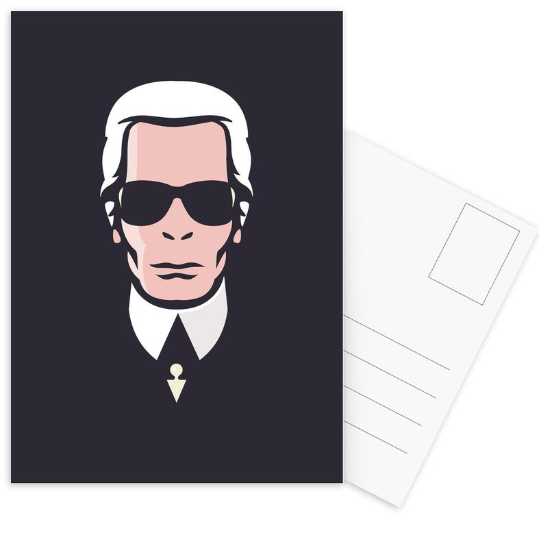 Lagerfeld -Postkartenset