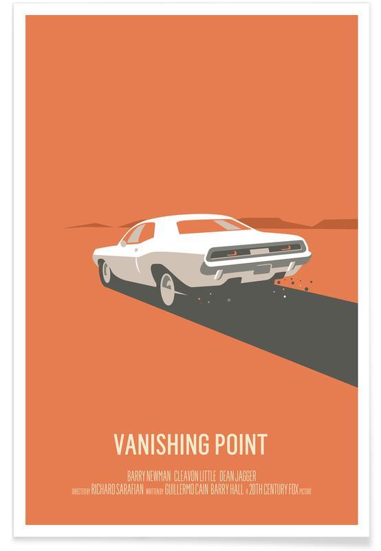 Films, Voitures, Vanishing Point affiche