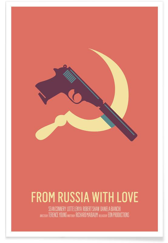 From Russia With Love affiche