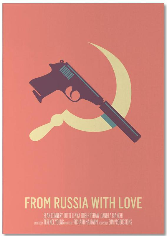 Movies, From Russia With Love Notepad