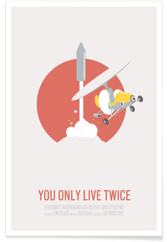 You Only Live Twice affiche