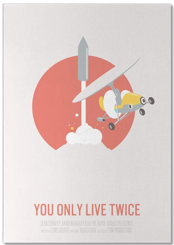 Filme, You Only Live Twice -Notizblock