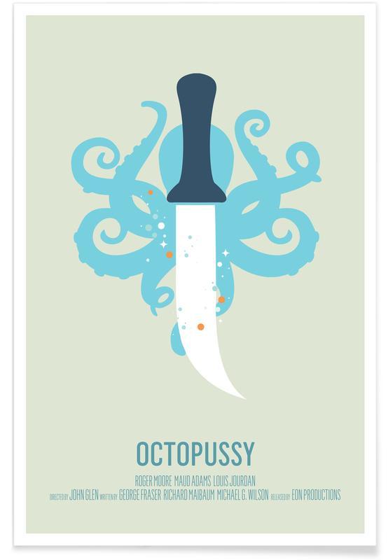 Filmer, Bläckfiskar, Octopussy Poster