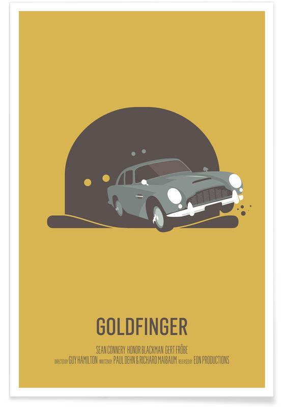 Goldfinger -Poster