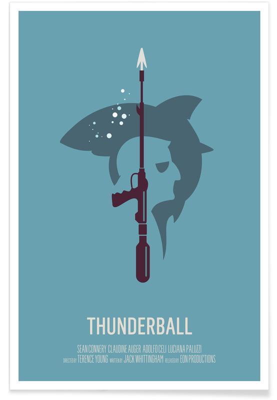 Movies, Thunderball Poster