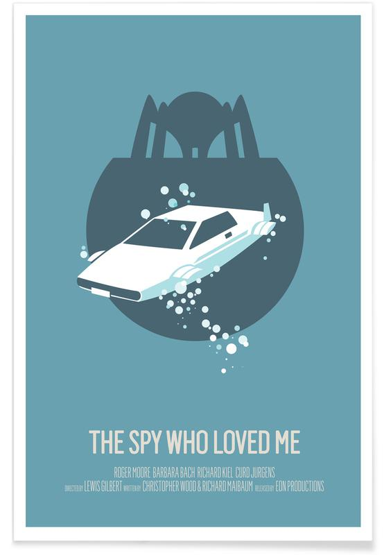 The Spy Who Loved Me -Poster
