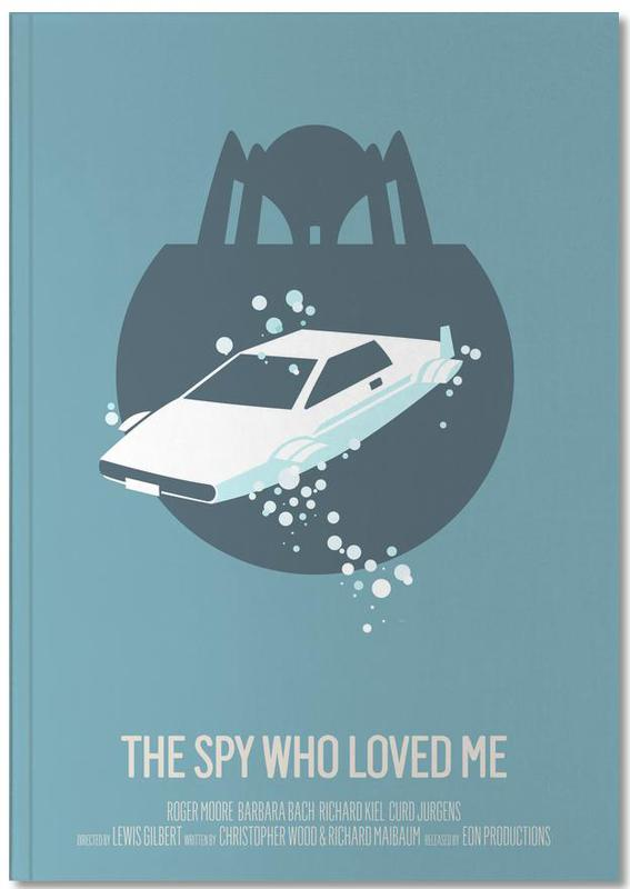 Films, The Spy Who Loved Me Notebook