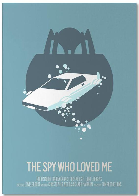 Movies, The Spy Who Loved Me Notepad