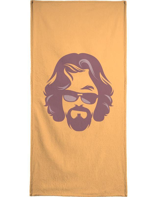 The Dude Beach Towel