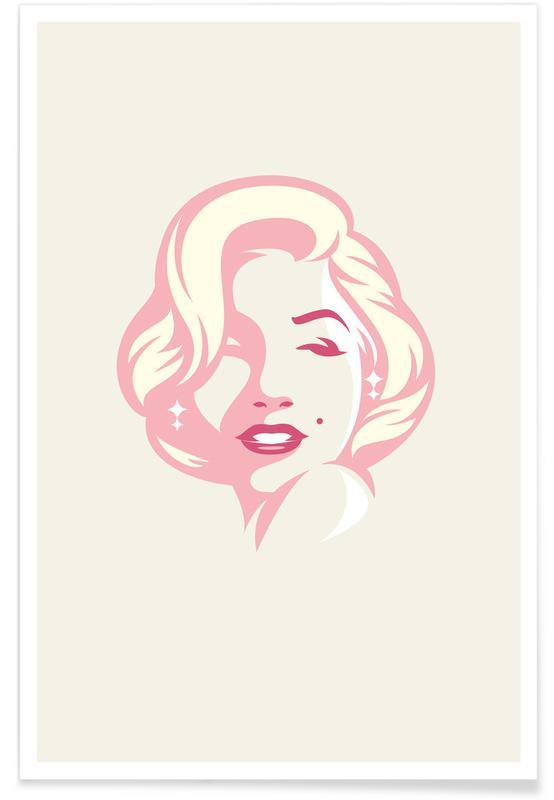 Marilyn Monroe, Marilyn affiche