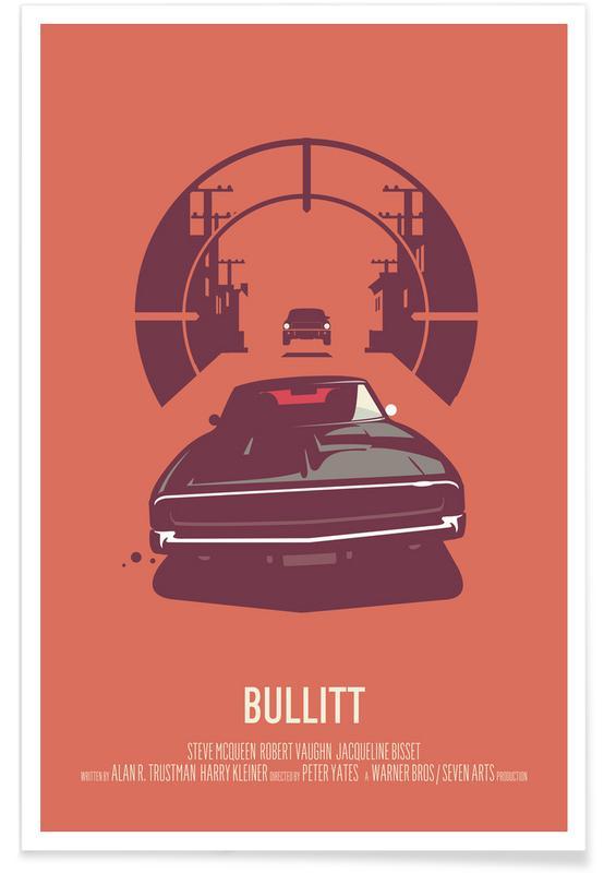, Bullitt poster