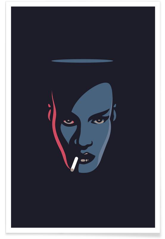 Pop Art, Grace Jones affiche