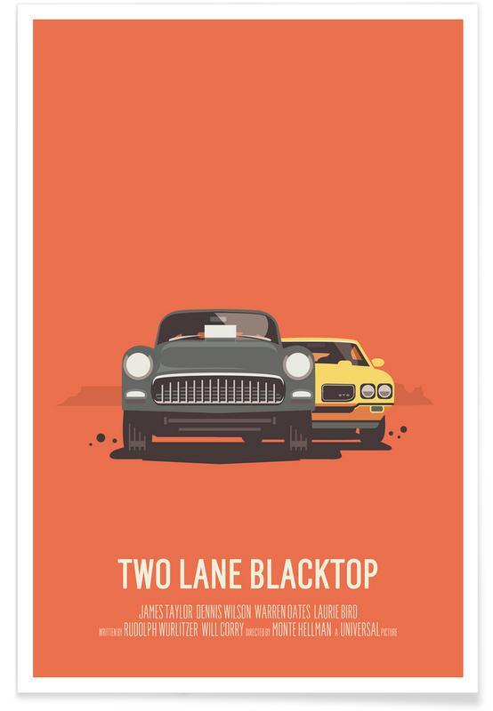 Films, Two Lane Blacktop affiche