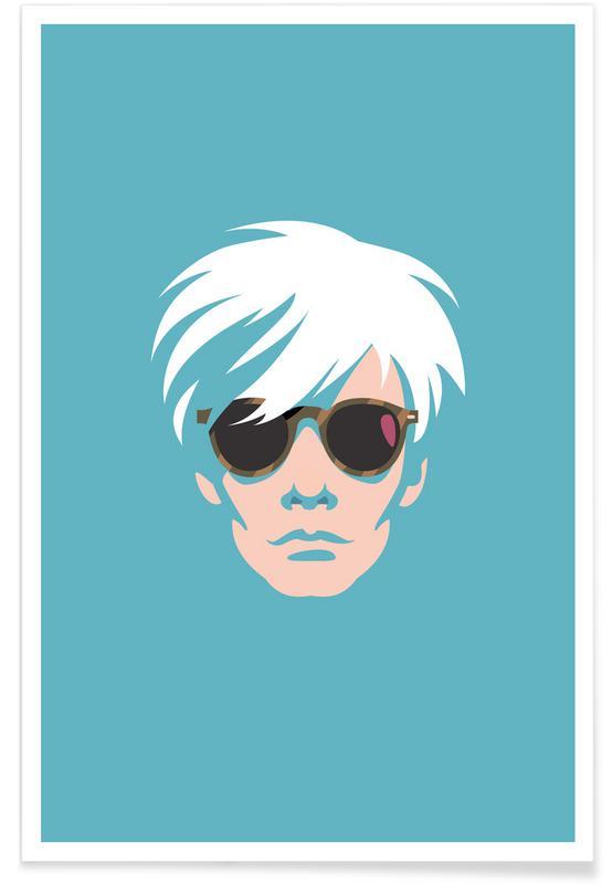 Andy Warhol, Warhol affiche