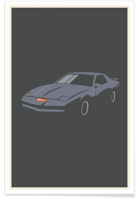 K 2000 - Minimaliste affiche