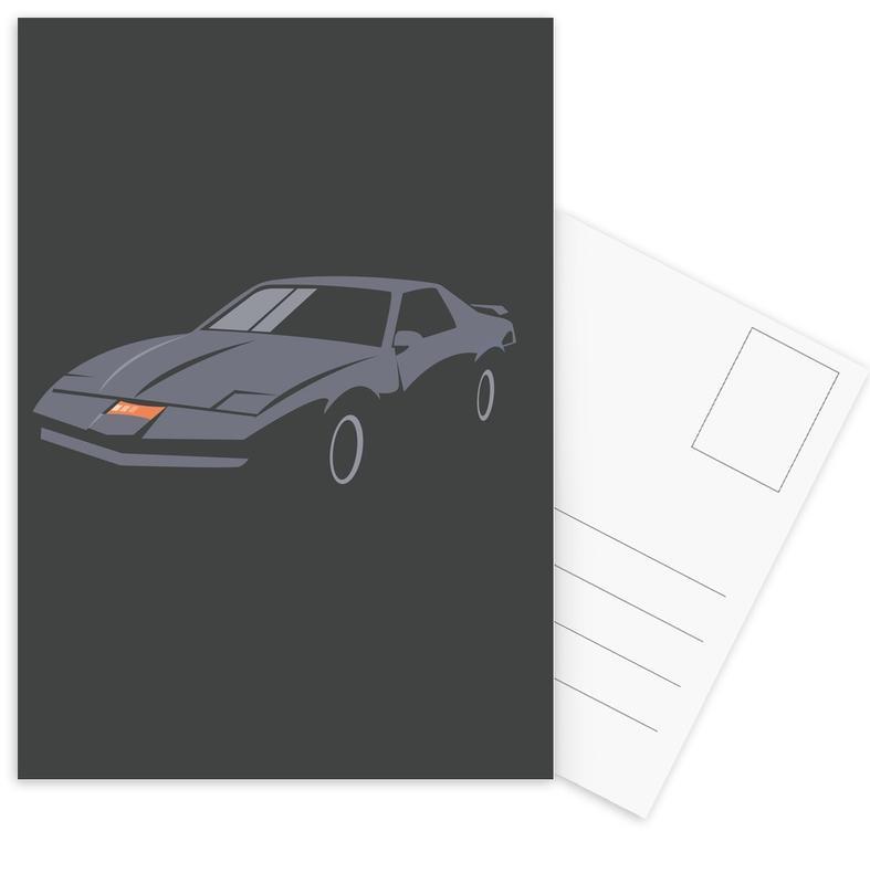 K.I.T.T. Postcard Set