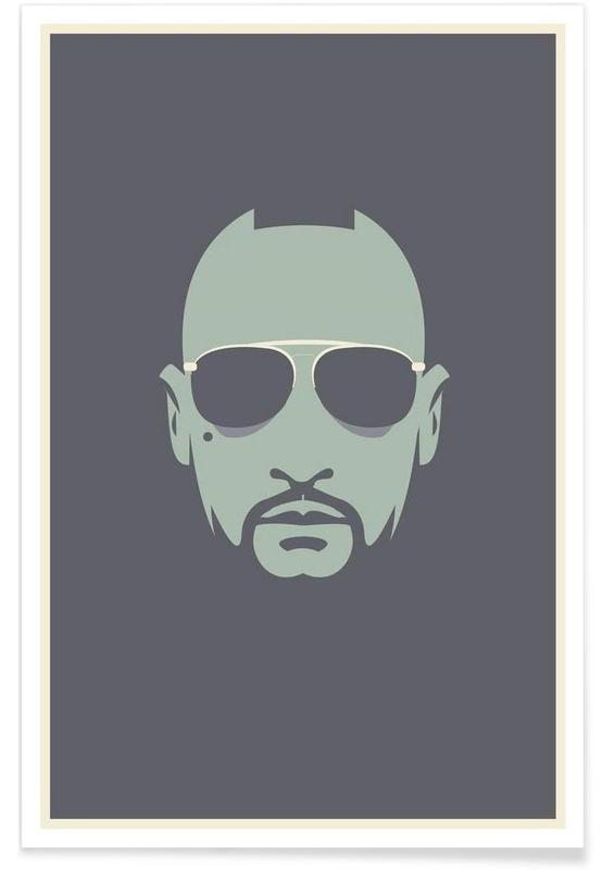 Travis Taxi Driver - minimalistisch poster