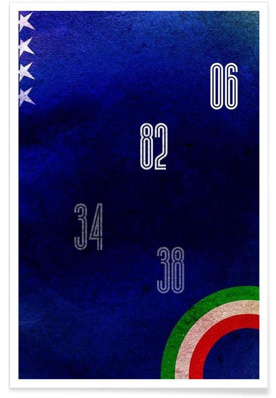 Football, Italy affiche