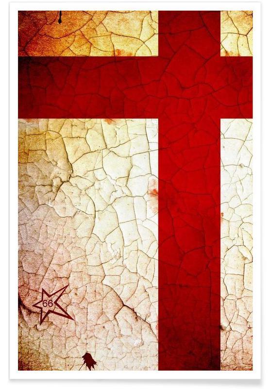 Football, England affiche