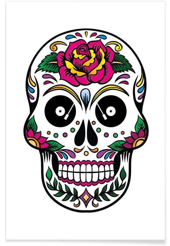 Crânes, Skull affiche