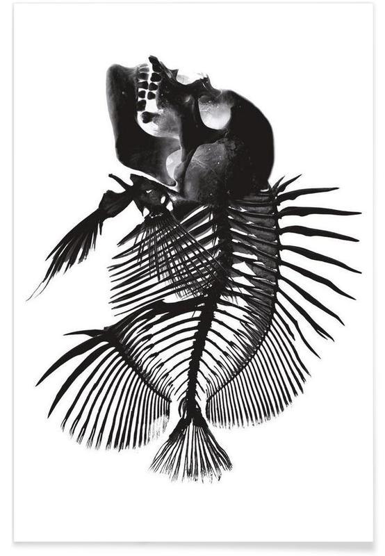 Fishskull -Poster